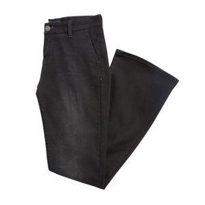 Dear John Marson Wide Leg Denim Trouser Black NWOT